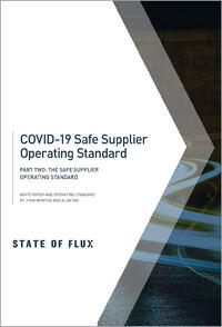 State of Flux - COVID-19 Safe Supplier Operating Standard - Part Two