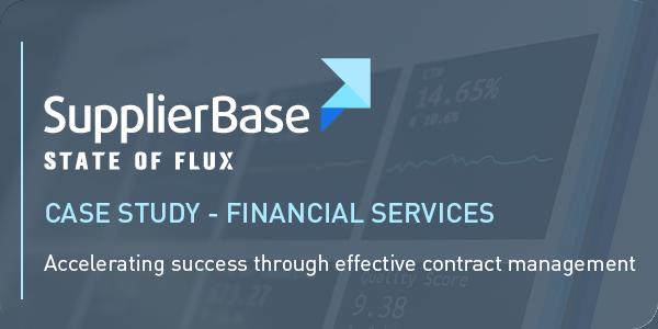 SupplierBase - Case Study - Financial Services